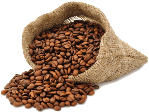 kaffebønnene