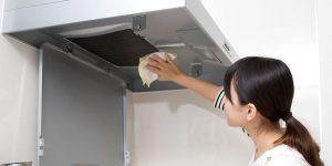 Husk å rengjøre kjøkkenviften din