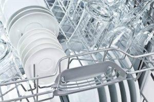Rengjør oppvaskkurven