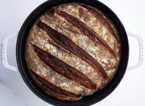 Brød med nøtteaktig aroma