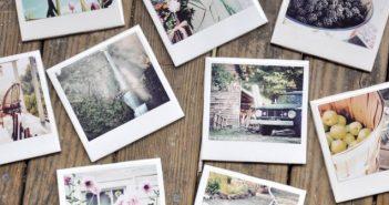 Polaroidkamera test